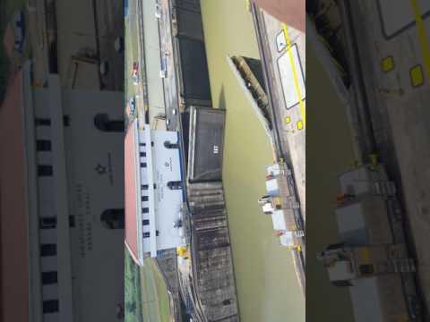Canal de pana - Pasada del crucero