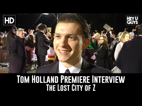 Tom Holland Premiere Interview - The Lost City of Z