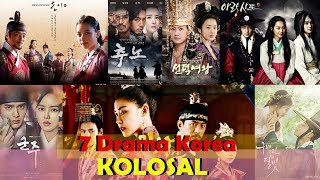 Video 7 Drama Korea Kolosal Terbaik download MP3, 3GP, MP4, WEBM, AVI, FLV November 2018