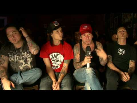 L.A. GUNS INTERVIEW / ENTREVISTA Sao Paulo 2010 Part 1
