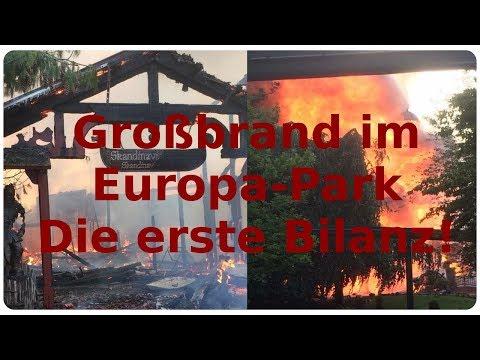 Nach dem Großbrand im Europa-Park   Die erste Bilanz! (Info-Video)