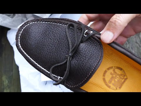 BEST Moccasins EVER - Made In Maine! in 4k UHD