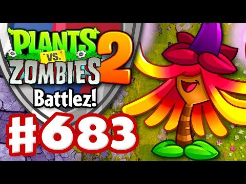 Battlez! Witch Hazel Premium Quest! - Plants vs. Zombies 2 - Gameplay Walkthrough Part 683