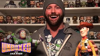 Zack Ryder's got friends in these Toy Story Signature Collection figures: WWE Unboxed Zack Ryder
