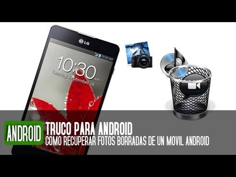 Cómo recuperar fotos borradas de un teléfono Android - YouTube