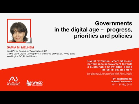 Governments in the digital age – progress, priorities and policies