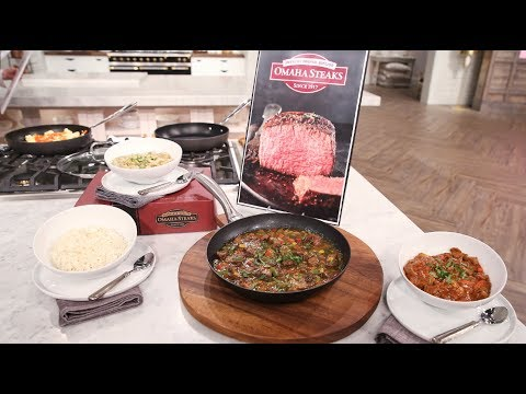 In The Kitchen With Omaha Steaks! - Pickler & Ben