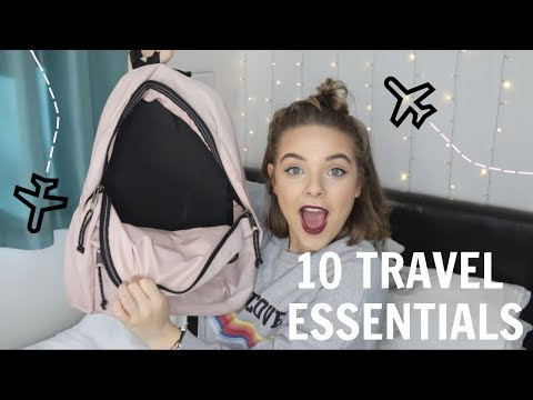 10 ESSENTIALS FOR YOUR TRAVEL BAG! ✈️🚊👜