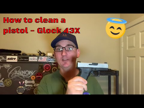 How to Clean a Pistol - Glock 43X (2019)