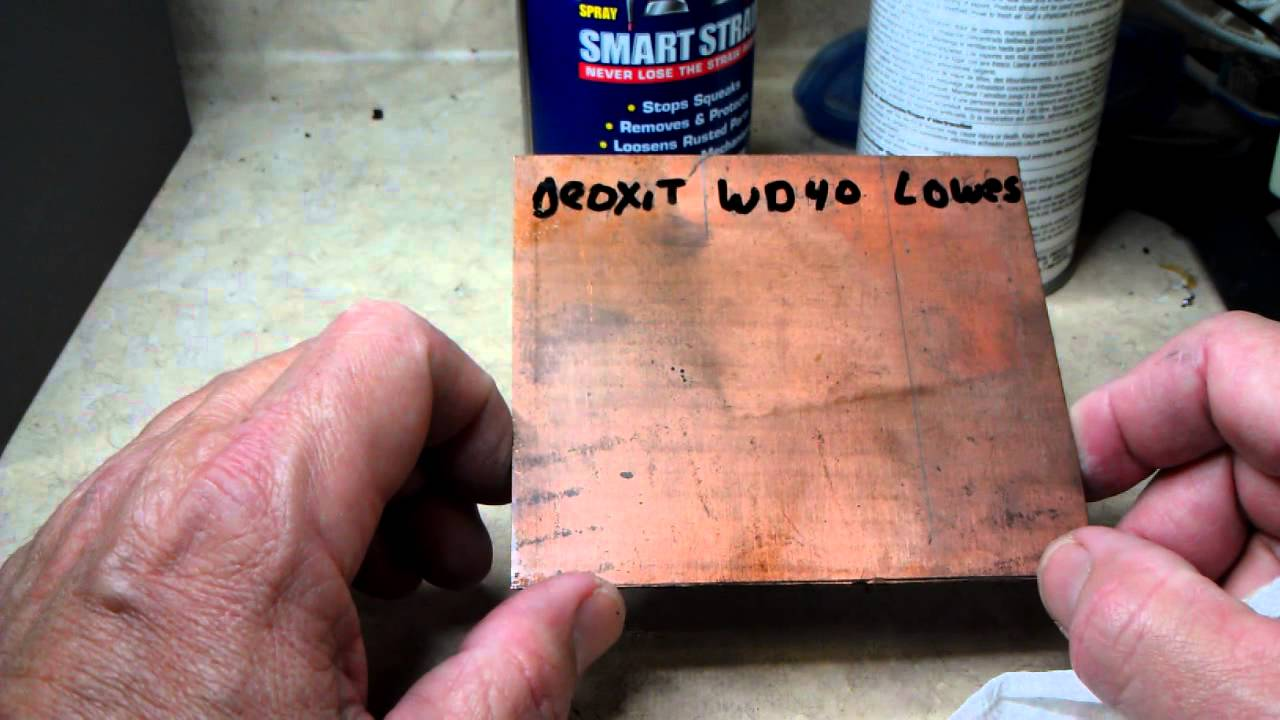 DeOxit vs WD40 vs Contact Cleaner - Shootout