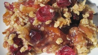 CRANBERRY APPLE CASSEROLE - How to make CRANBEERRY APPLE CASSEROLE Recipe