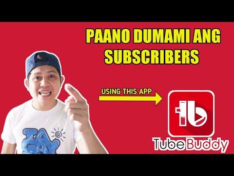 Download Paano Dumami Ang Views at Subscribers Sa YouTube? TUBEbuddy app