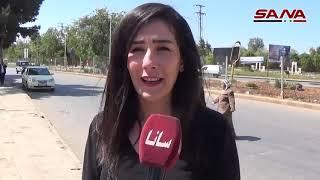 СИРИЯ БЕЗ ВОЙНЫ - Жители Хомса осуждают тройную агрессию против Сирии (14.04.2018)