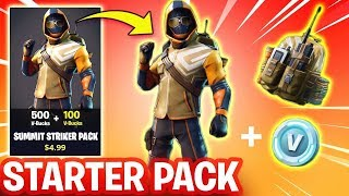 NOUVEAU STARTER PACK IN FORTNITE BATTLE ROYALE ROAD TO 6K -SKYVINNY