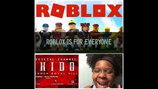 Playing Roblox With Kido & Ace