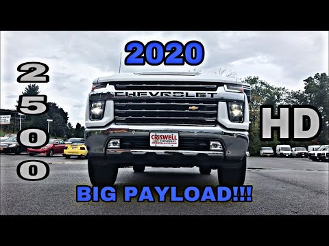 2020 Chevrolet Silverado 2500 LTZ Duramax - Nicely Equipped And Perfect For Towing!!!