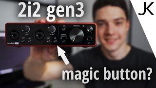 Focusrite Scarlett 2i2 gen3 REVIEW (Air Mode? Better than gen2?)