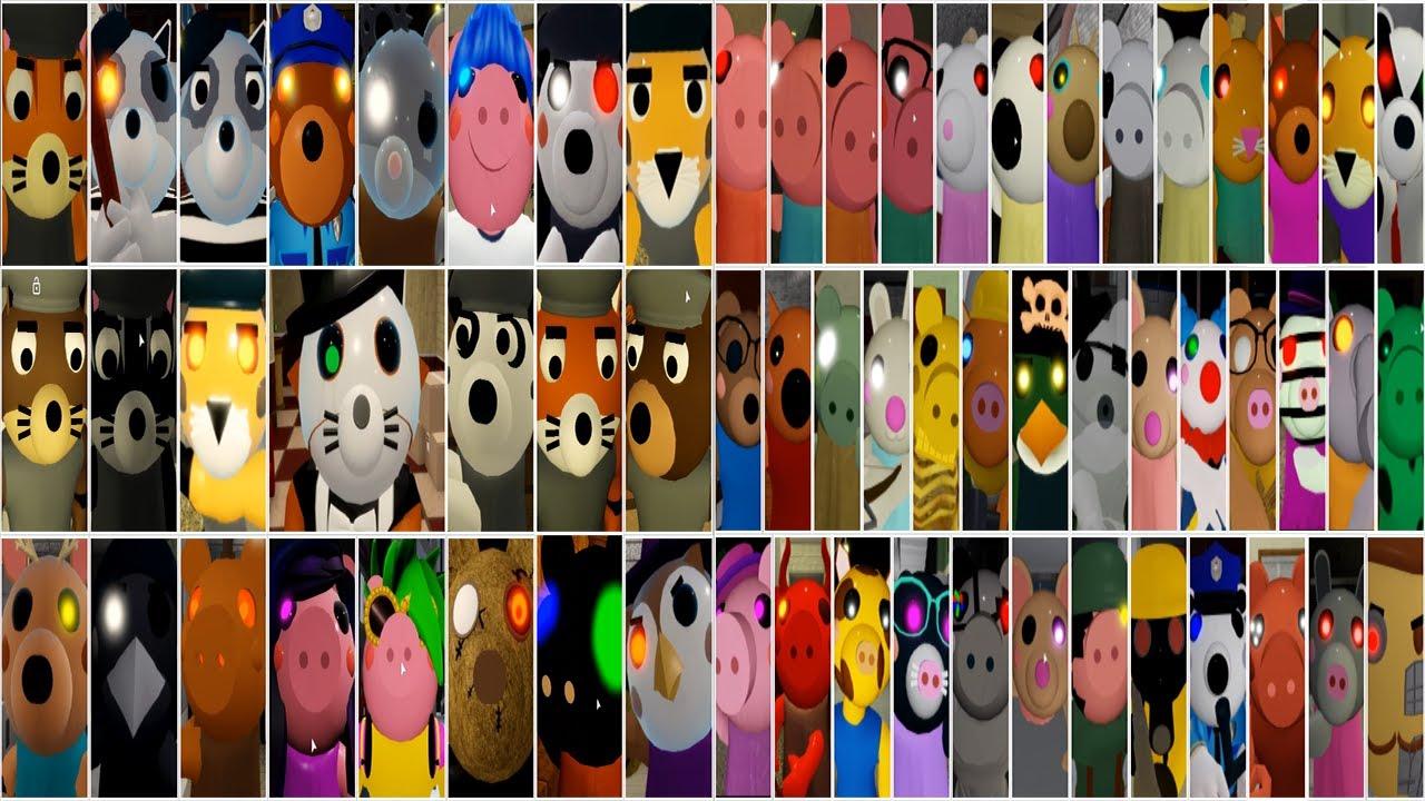 Download ROBLOX PIGGY BOOK 1 VS BOOK 2 ALL JUMPSCARES