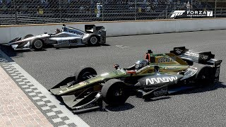 Indy at Indy! Forza Motorsport 7 Indycar