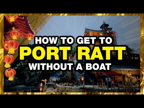BLACK DESERT ONLINE How To Get To Port Ratt BDO Without A Boat
