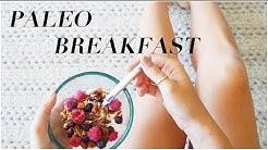 3 Paleo Breakfast Ideas