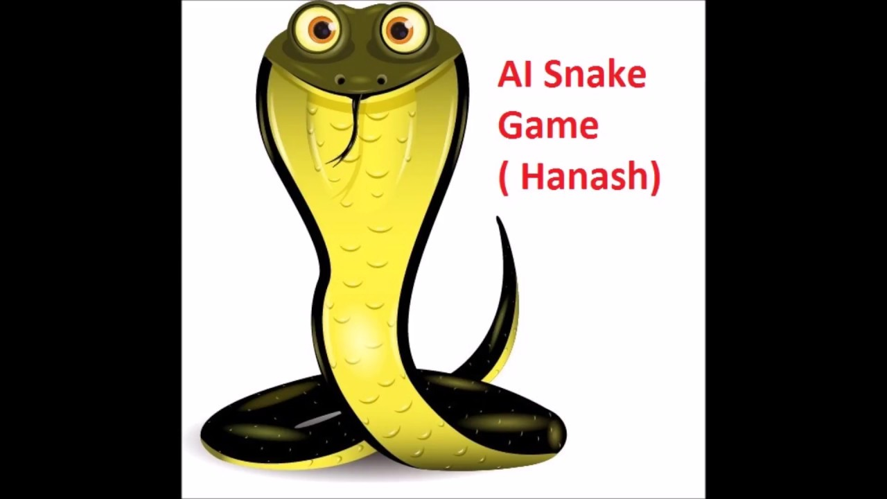 AI snake game [Hanash] , with source code in c++, AI algorithm implemented