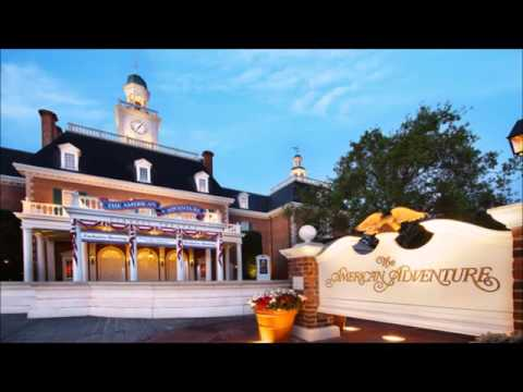Epcot's American Adventure Pavilion Area Music - DisneyAvenue.com