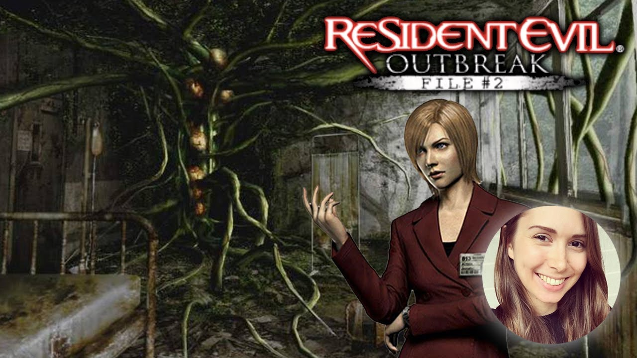 Resident Evil Outbreak File 2 Plant Zombies Flashback Part 5