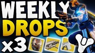 Destiny - WEEKLY DROPS x3 ! (EXOTIC LOOT)