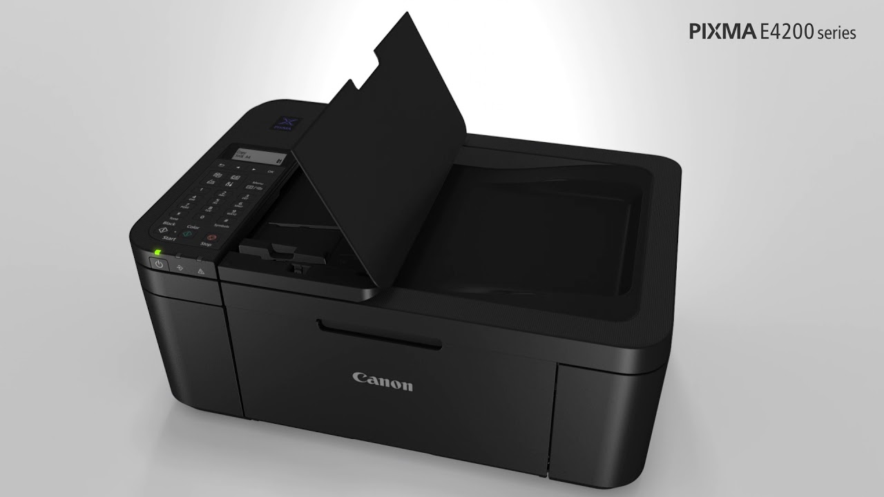 Canon PIXMA Ink Efficient E4270 product video