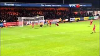Cambridge Utd 0-0 Huddersfield - The FA Cup 1st Round - 06/11/10
