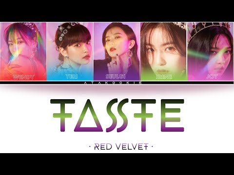 RED VELVET (레드벨벳) – TASTE (RBB) (Color Coded Lyrics) [HAN/ROM/ENG]