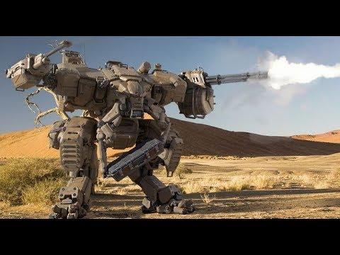 Боевые роботы  Фантастика, Боевик, Приключения полный фильм