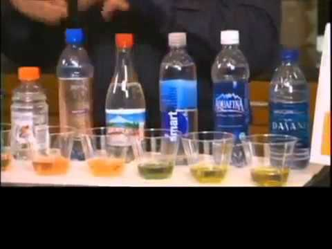 Kangen Water Demo Ph Test Tap Water Amp Bottled Drinks