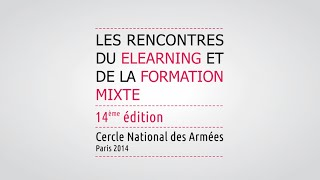 Rencontres du e-learning et de la formation mixte 2018