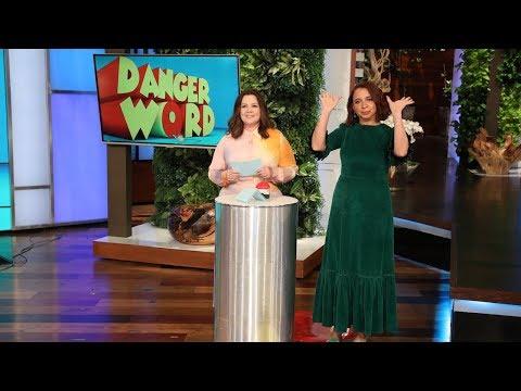 Maya Rudolph and Melissa McCarthy Play 'Danger Word'
