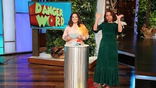 Maya Rudolph and Melissa McCarthy Play 'Danger Word'