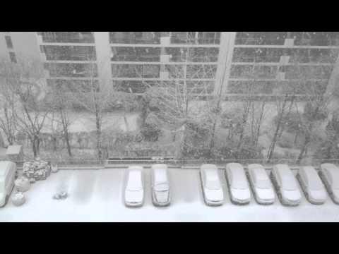 Heavy Snow Flakes