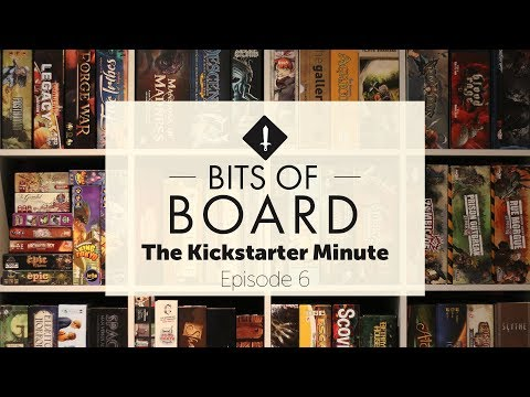 The Kickstarter Minute: Episode 6 - Hellas of a Big Week!