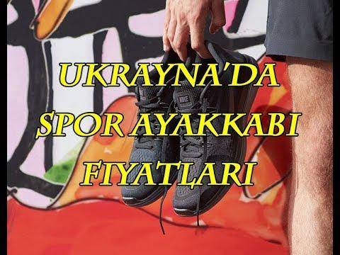🇺🇦  Ukrayna'da Spor Ayakkabı Fiyatları