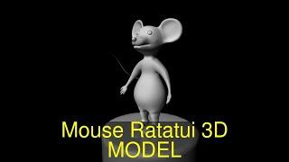 3D Model of Mouse Ratatui Review