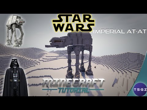 Imperial AT-AT: A Minecraft Star Wars How-To