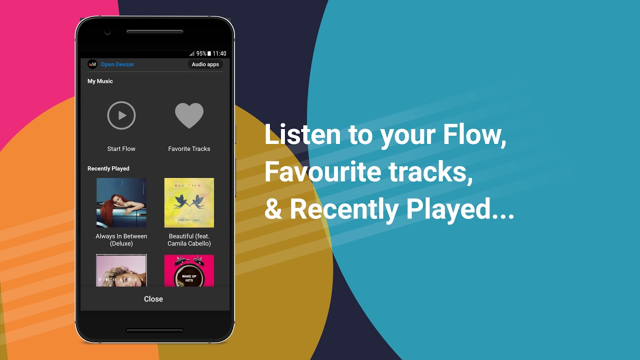 Listen to Deezer on Waze - Your ride  Your vibe