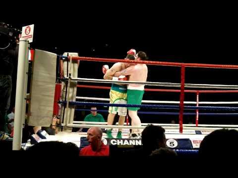 Darren Corbett v Michael Sweeney First Round Knock down