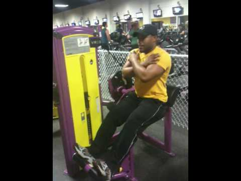 planet fitness back extension machine  youtube