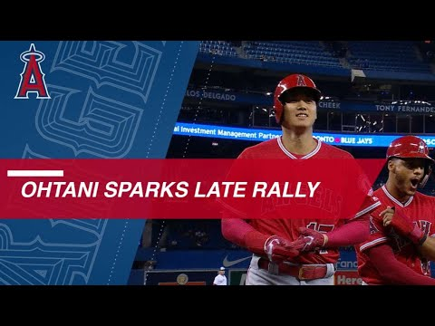 Ohtani sparks Angels rally in 9th vs. Blue Jays
