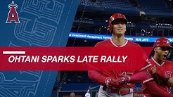 Shohei Ohtani sparks Angels' 9th-inning rally vs. Blue Jays