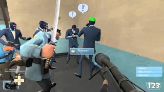 [1080p] Team Fortress 2 - Развод при игре в спай краба