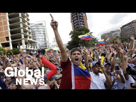 LIVE: Protests against President Maduro held in Venezuela