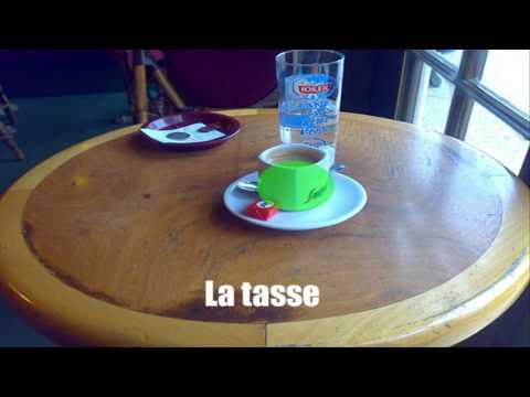 [HD] Vocabulaire - Au café vol1